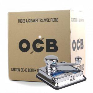 mikromatic + carton tubes ocb