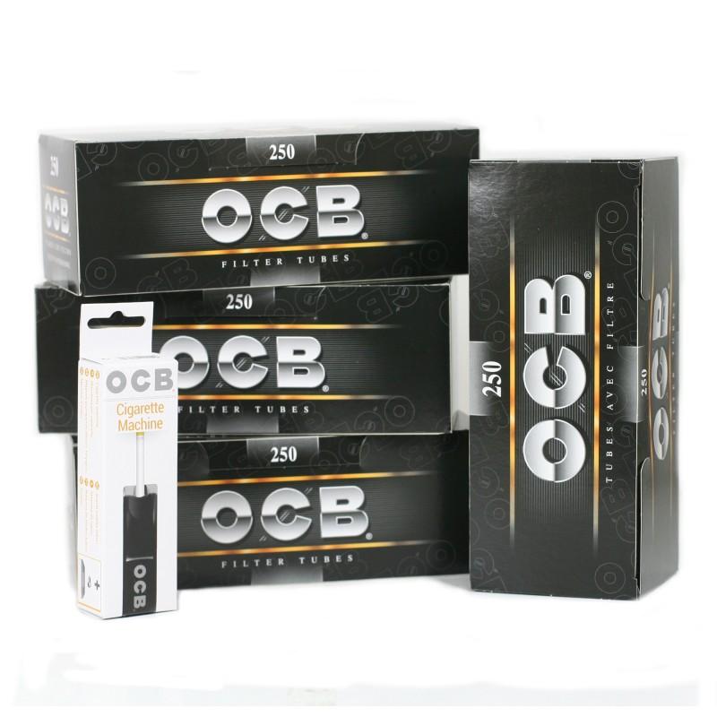 Tubeuse ocb + 1000 tubes à cigarette